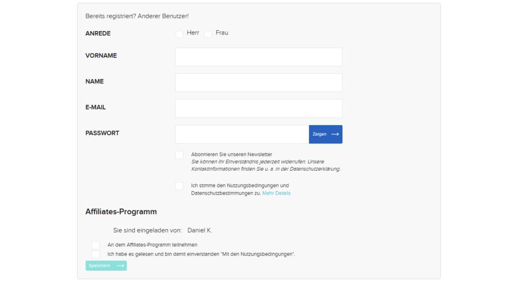 Affiliates-Register